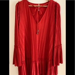 Red blouse or dress